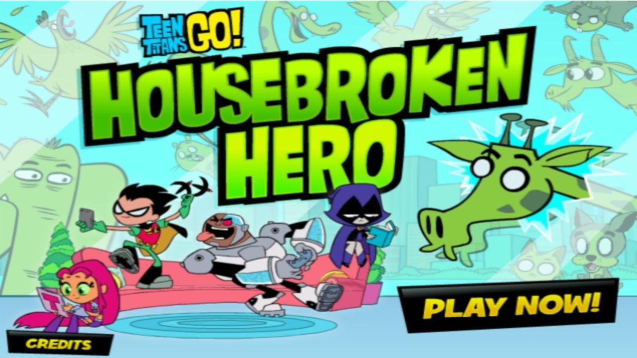 Cartoon Network Games: Teen Titans Go! - Housebroken Hero ...