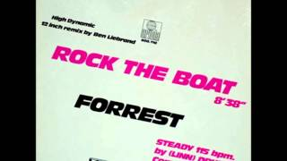 "Forrest - Rock The Boat ""12 Inch"" (Remix) 1982."