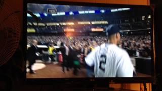 Derek Jeter's last career at bat