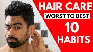 10 Hair Care Habits Ranked from Worst to Best
