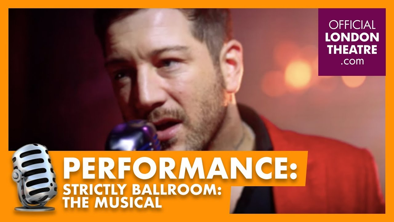 """Matt Cardle sings """"Perhaps"""" from Strictly Ballroom the Musical"""