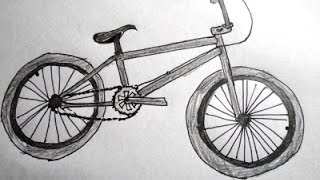 How to Draw a Bicycle: Step by step drawing for kids and beginners