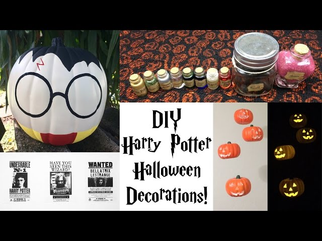 diy harry potter halloween decorations demisiriusly