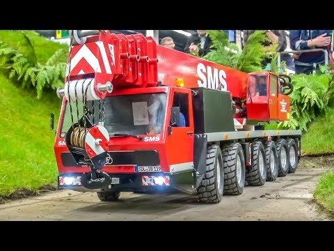 RC Trucks! Cranes! Tractors! Machines! AWESOME ACTION!