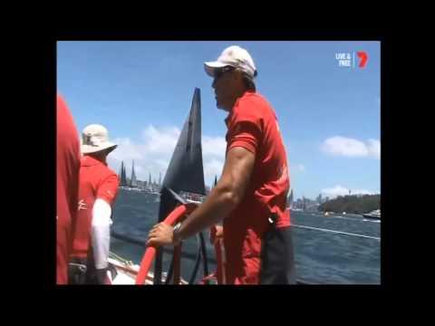 Rolex Sydney Hobart Yacht Race 2014 - Start Broadcast.