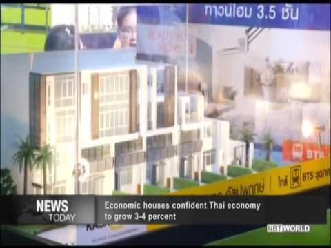 Economic houses confident Thai economy to grow 3 4 percent