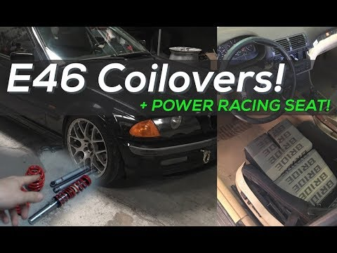 Budget E46 Drift Car - Cheap Coilover suspension and Racing