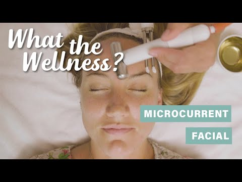 What the heck is a microcurrent facial? One editor tried the sculpting, smoothing treatment to find out