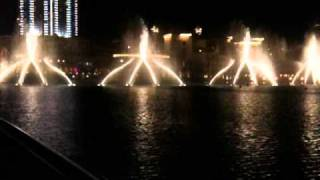 Dubai fountain (UAE) -