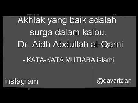 Kata Kata Bijak Islami Part 1 Youtube