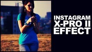 Photoshop Öğretici İnstagram X-Pro II Çapraz işleme Film Efekti oluşturma