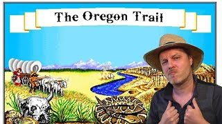 Heading out on the trail... the Oregon Trail