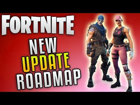 """Fornite Save The World Update Roadmap """"Fornite Update 3.5 News"""" Fornite Into The Storm"""