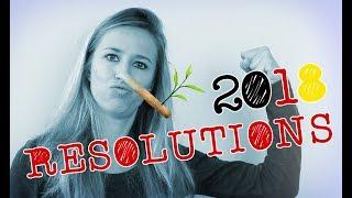 Meine Vorsätze für das neue Jahr! My Resolutions for the new Year!