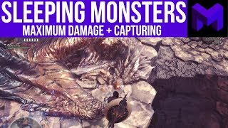 Maximize your Damage against Sleeping Monsters: Monster Hunter World