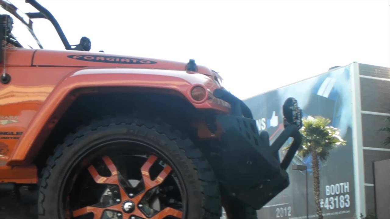 Jeep Matte Black >> DUBSandTIRES.com 2009 Jeep Wrangler Review 24 inch Forgiato Basamento Custom Luxury Wheels - YouTube