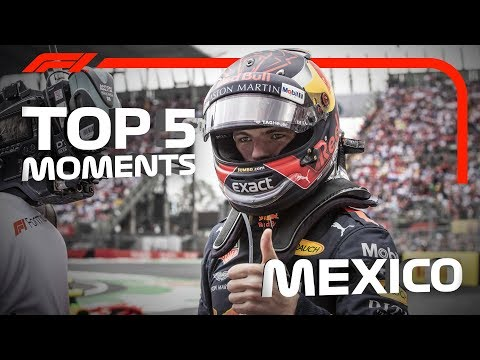 Top 5 Moments | 2018 Mexican Grand Prix