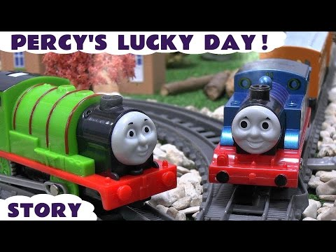 Thomas & Friends Real Steam Percy Story Steam Along Thomas Y Sus Amigos Trackmaster