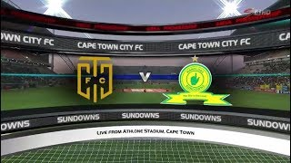 Absa Premiership 2017/2018 - Cape Town City vs Mamelodi Sundowns