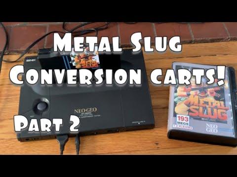 Neo Geo AES Metal Slug Conversion Cartridges (Part 2)