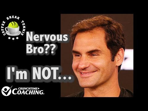 2018 Australian Open QF's NERVOUS? Roger ISN'T | Coffee Break Tennis