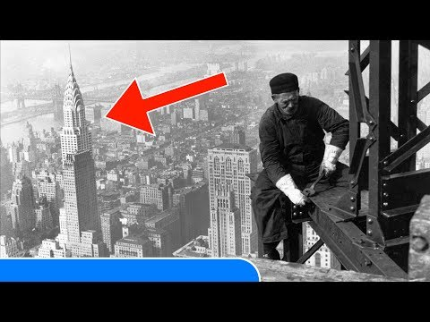 25 MOST RARE Historic Photos of the Construction of FAMOUS Buildings in the World