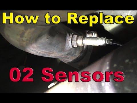 how to replace oxygen (02) sensors - 1999-2006 chevy 1500 (silverado,  sierra, tahoe, yukon)