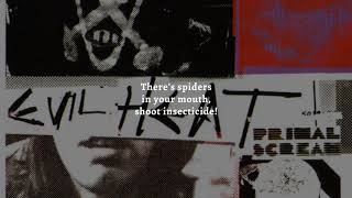 Primal Scream - City (Remastered) (Lyric Video)