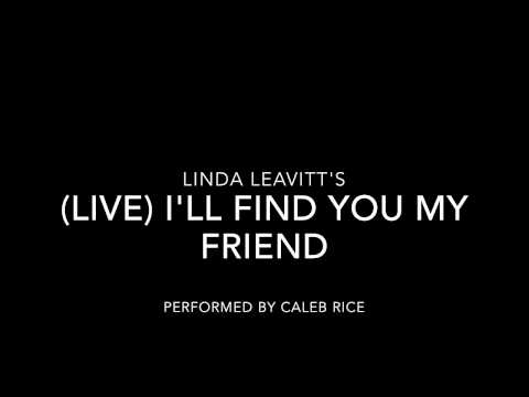 (Live Piano) I'll Find You My Friend