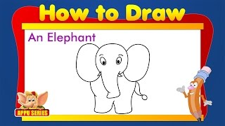 Learn to draw Animals - Elephant