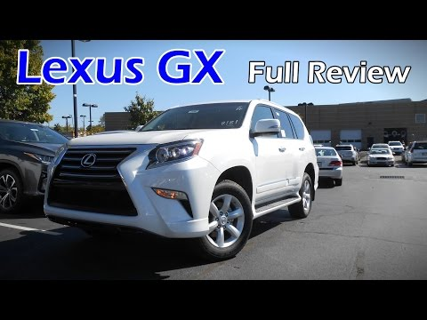 2017 Lexus GX 460: Full Review | Base, Premium & Luxury