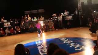 Unvsti Baby Battle 2013 Final B-Girl Terra vs B-Boy Shigexkik