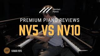 🎹Kawai Novus NV10 vs NV5 Hybrid Digital Piano Comparison - TwinDrive, Onkyo Transducers🎹