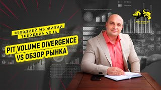 индикатор Pit Volume Divergence VS обзор рынка. Что такое тест I  500 дней из жизни трейдера V0.14