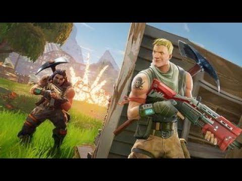 Crazy Australian gamers play Fortnite