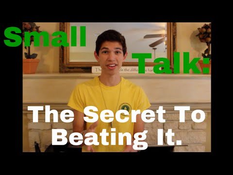 The Secret To: Defeating Small Talk (Boy Meets Baylor)