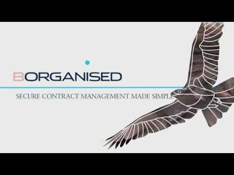 BOrganised: Contract Management Made Simple