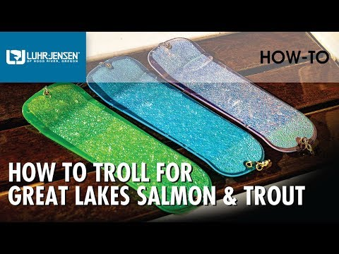 How to Troll for Great Lakes Salmon and Trout | Rapala Fishing Tips