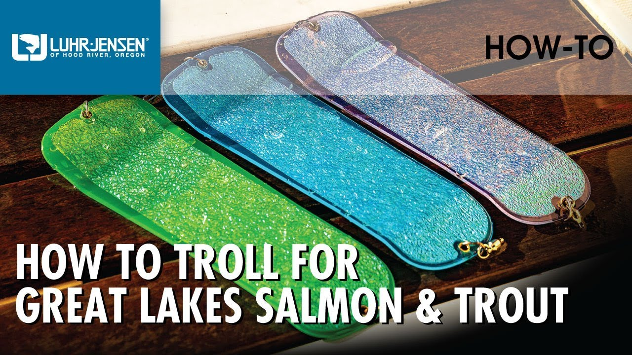 How to Troll for Great Lakes Salmon and Trout | Luhr Jensen Fishing Tips