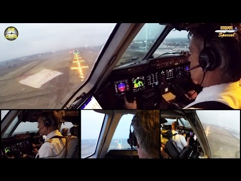 Lufthansa Cargo MD 11F ULTIMATE COCKPIT MOVIE 1/4 FRA-Nairob