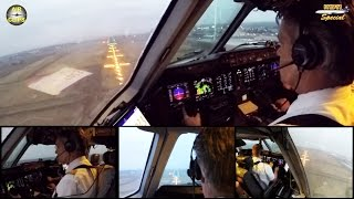 Lufthansa Cargo MD 11F ULTIMATE COCKPIT MOVIE 1/4 FRA-Nairobi,FULL ATC [AirClips full flight series]