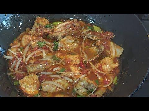 ' Karahi Chicken Piyaz ' Bajias Cooking