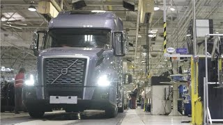 Volvo Truck Production - Assembly Plant in US