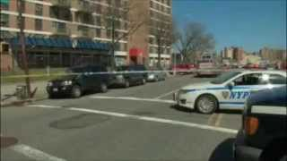 Unedited 2 NYPD cops critically injured in Coney Island fire Audio