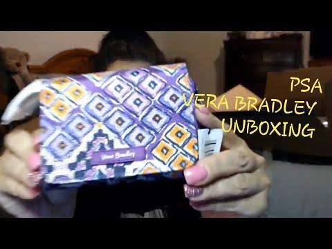 Mail Call Unboxing Vera Bradley Haul