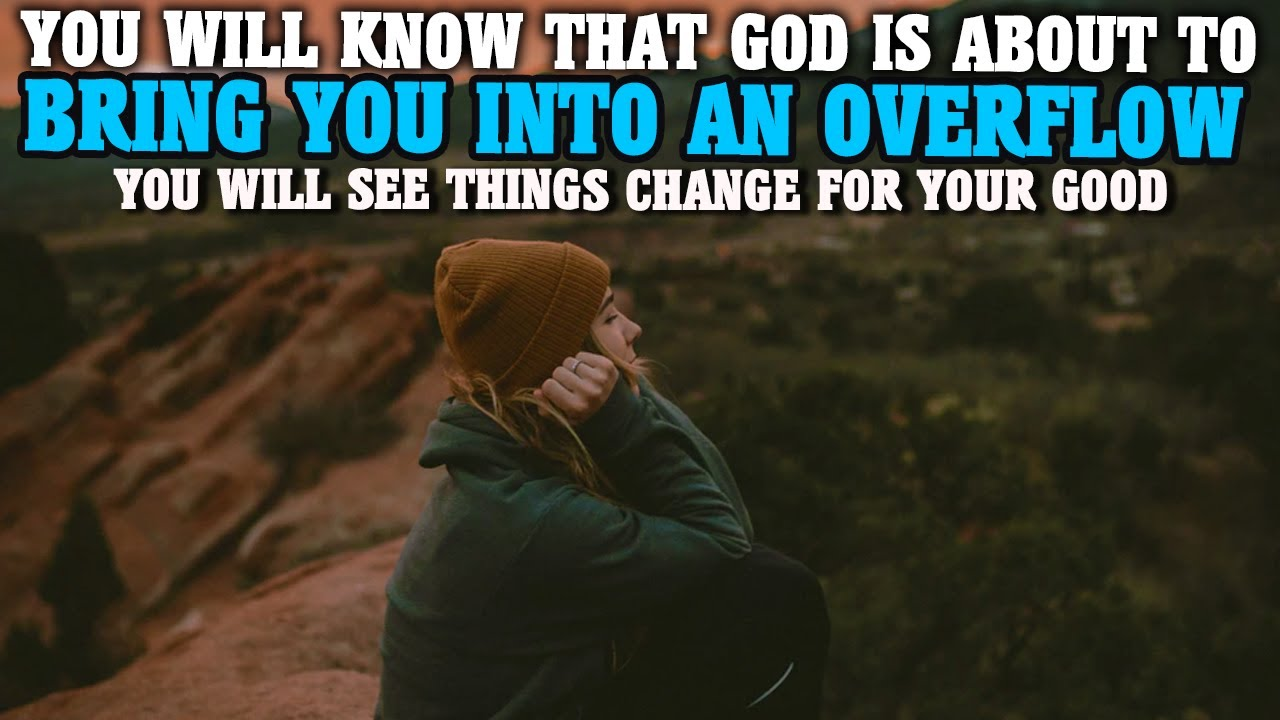 WHEN GOD IS ABOUT TO OPEN NEW DOORS & BLESS YOU THIS THINGS WILL HAPPEN (Christian Motivation)