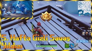 Fortnite season 7 week 5 Hidden Battlestar In [Av Team Tasks]