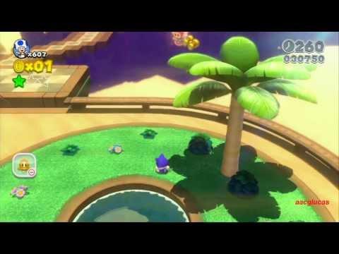 Guia Super Mario 3D World 100% (5 estrellas) Mundo 2