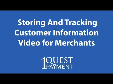 Merchant Services Storing And Tracking Customer Information - Orlando Credit Card Processing