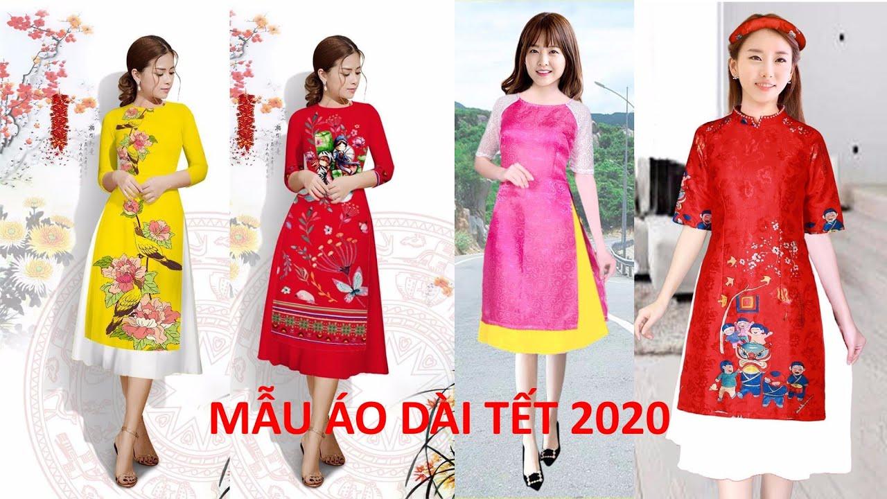 Áo dài tết mẫu mới 2020 – Top 19 Kiểu Áo Dài Cách Tân mặc tết đẹp lung linh ai cũng mê